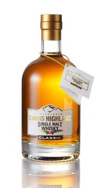"Swiss Highland Single Malt Whisky ""CLASSIC"""
